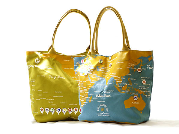 World Mapping Bag
