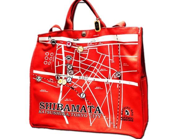 SHIBAMATA MAP BAG
